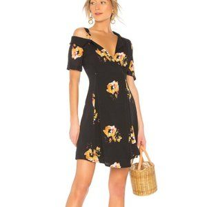 A.L.C. Floral Off Shoulder Lucia Shirt Dress 10